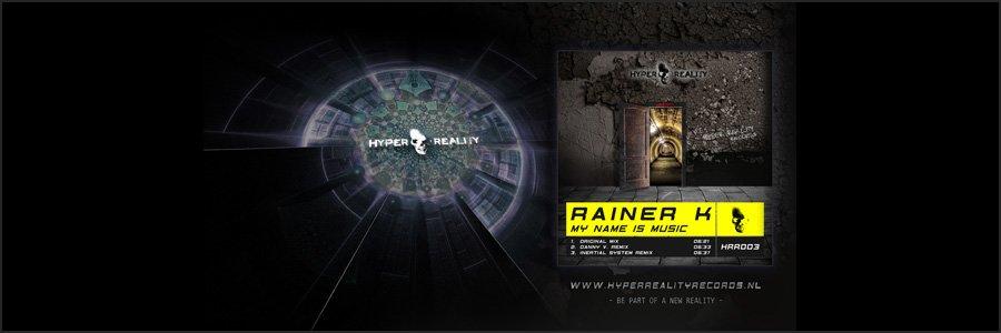 Hyper Reality Records Wallpaper HRR003
