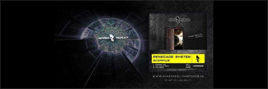 Hyper Reality Records Wallpaper HRR004