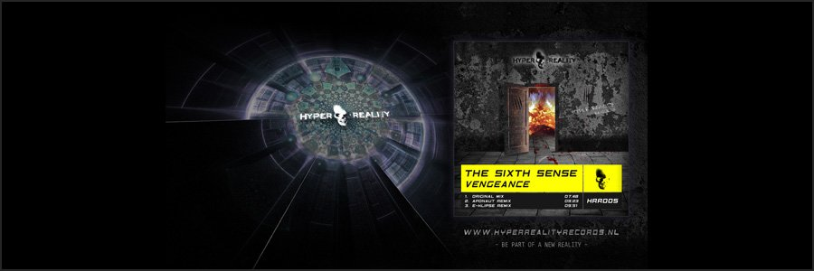 Hyper Reality Records Wallpaper HRR005