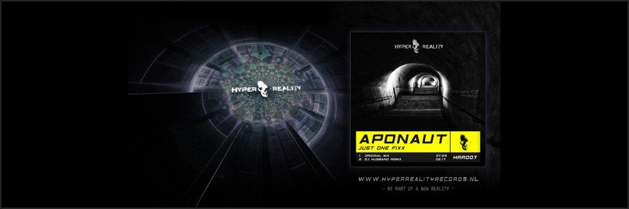 Hyper Reality Records Wallpaper HRR007