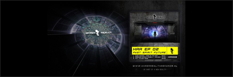 Hyper Reality Records Wallpaper HRR008