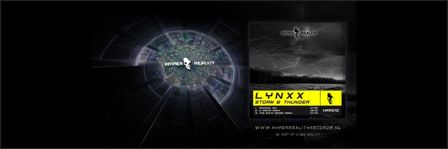 Hyper Reality Records Wallpaper HRR010