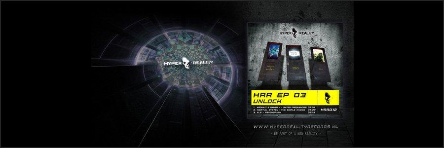 Hyper Reality Records Wallpaper HRR012